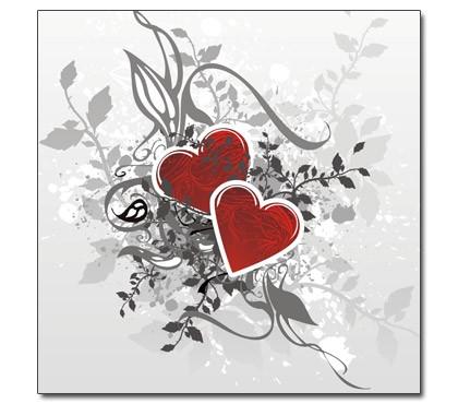Retro Love - Herzen