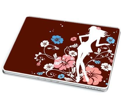 Flower Girl (Laptop-Aufkleber)