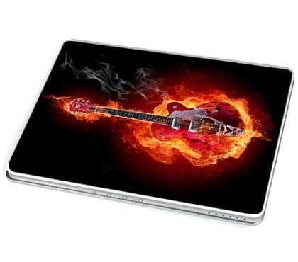 Burning Metal (Laptop-Aufkleber)
