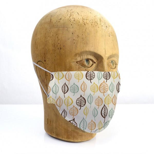 """Mund-Nasen-Maske """"Blätter"""""""