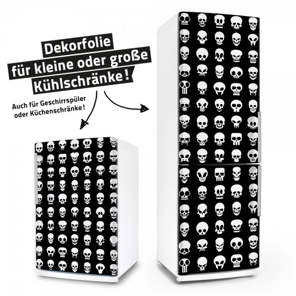 1000 Totenköpfe (Küchen-Dekorfolie)
