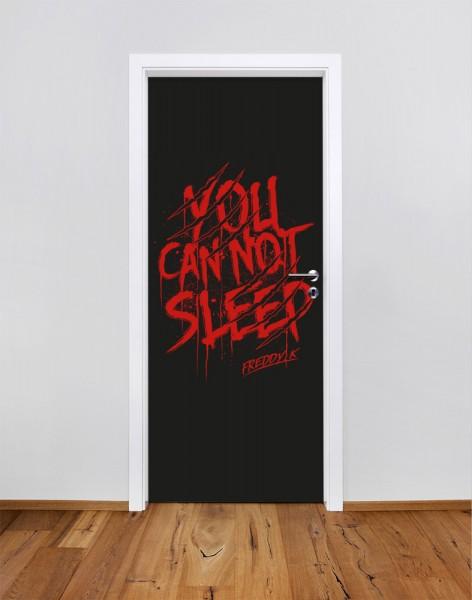 Freddy Krueger - Greetings from Elm Street (Türfolie | Türposter)