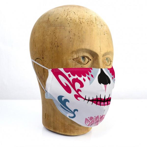 """Mund-Nasen-Maske """"Mexikanischer Totenkopf"""""""