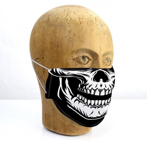 "Mund-Nasen-Maske ""Totenkopf"""