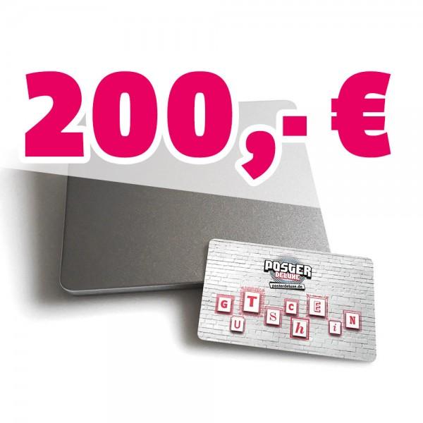 200,- Euro Geschenkgutschein