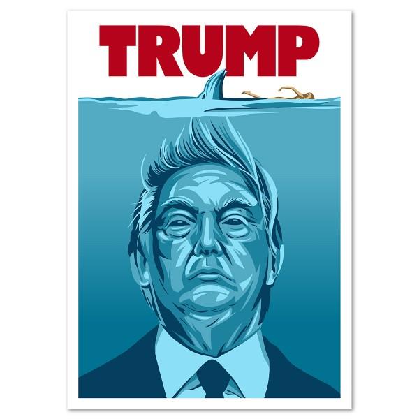 Donald Trump aka Der Weiße Hai