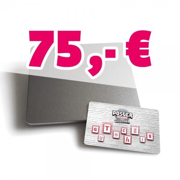 75,- Euro Geschenkgutschein