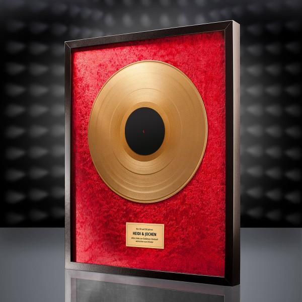 Goldene Schallplatte (Rot)