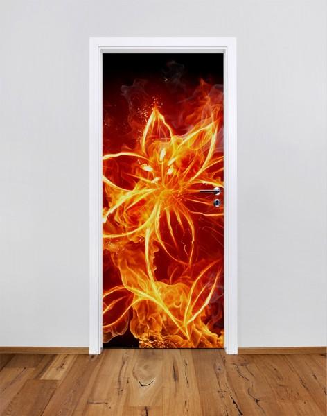 Feuerblume (Türfolie   Türposter)