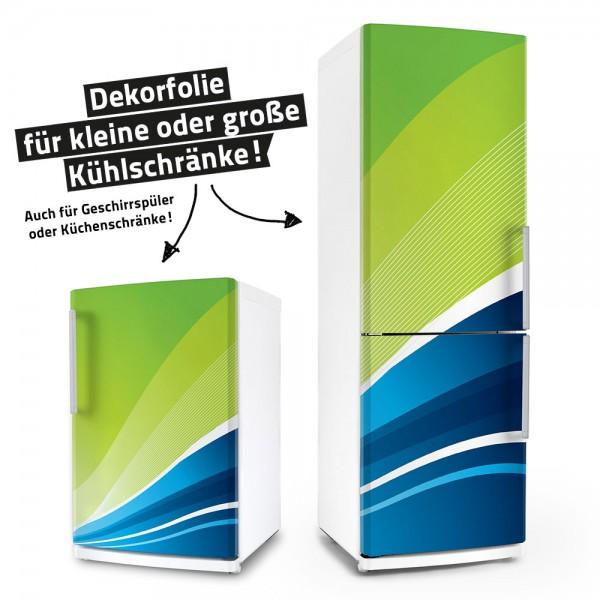 Green and Blue (Küchen-Dekorfolie)
