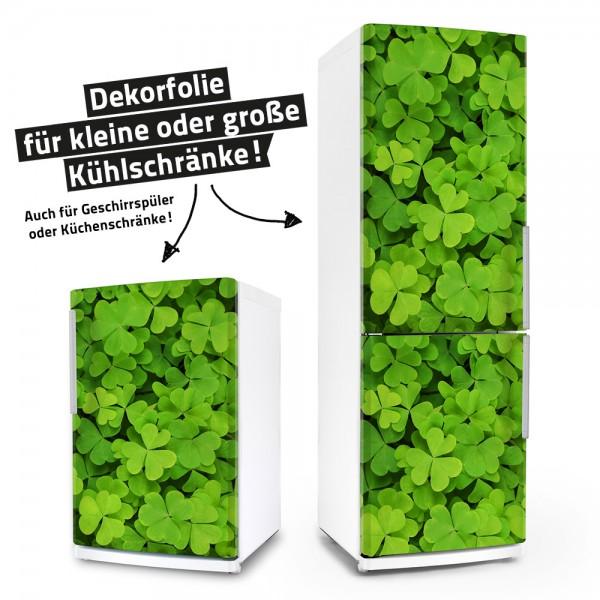 Kleeblatt bring mir Glück (Küchen-Dekorfolie)
