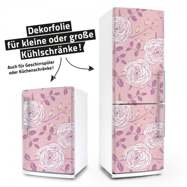 Zarte Rosen (Küchen-Dekorfolie)